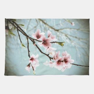 モモ/桜 キッチンタオル