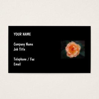 モモ-黒の黄色バラ、 名刺