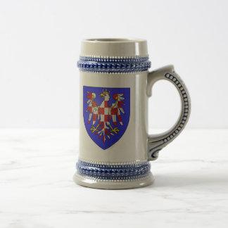 モラビアの腕、ハンガリー ビールジョッキ