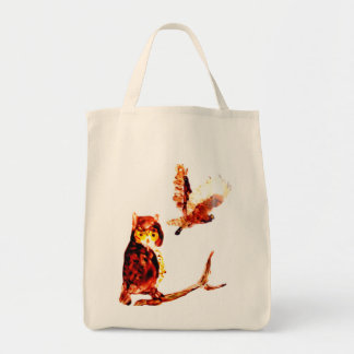 モリフクロウの芸術 トートバッグ