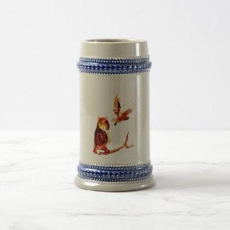 モリフクロウの芸術 ビールジョッキ