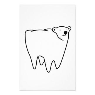 モルくまの北極の歯くま 便箋