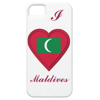 モルディブのモルディブの旗 iPhone SE/5/5s ケース