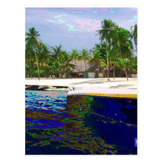 モルディブの写真撮影 ポストカード