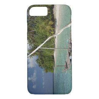 モルディブの北の男性の環礁、Kudaの島 iPhone 8/7ケース