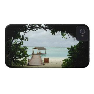 モルディブの島のボート Case-Mate iPhone 4 ケース