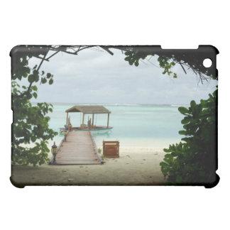 モルディブの島のボート iPad MINIケース