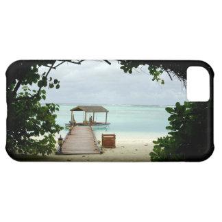 モルディブの島のボート iPhone5Cケース