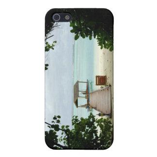モルディブの島のボート iPhone SE/5/5sケース