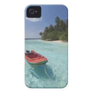 モルディブの男性の環礁、Kuda Bandosの島 Case-Mate iPhone 4 ケース