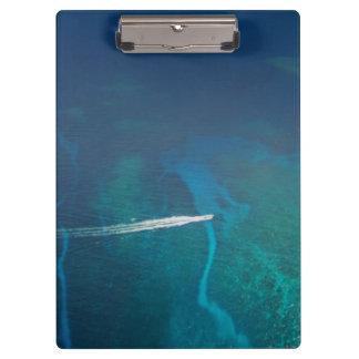 モルディブの空中写真 クリップボード