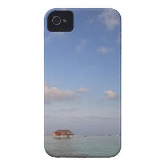モルディブのMeemuの環礁、Medhufushiの島、贅沢 Case-Mate iPhone 4 ケース