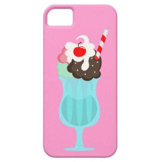 モルトの店のアイスクリームの飲み物、ピンクのiPhone 5/5Sの場合 iPhone SE/5/5s ケース