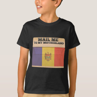 モルドバに私を郵送して下さい Tシャツ