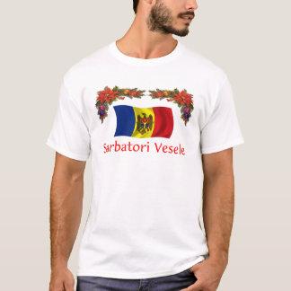 モルドバのクリスマス Tシャツ