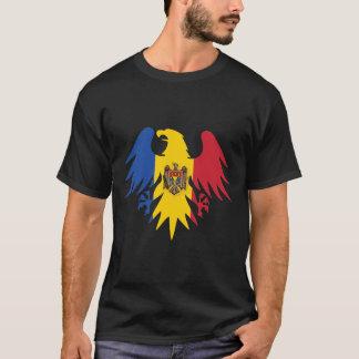モルドバの旗のワシ Tシャツ