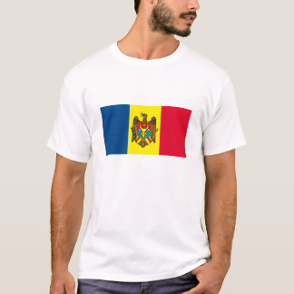 モルドバの旗のTシャツ Tシャツ