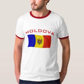 モルドバの旗2 Tシャツ