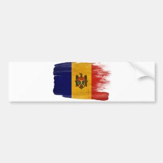 モルドバの旗 バンパーステッカー