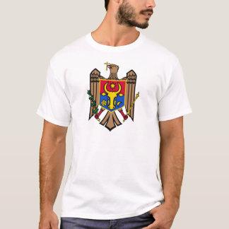 モルドバの紋章付き外衣 Tシャツ