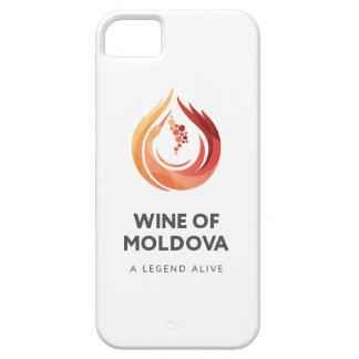 モルドバのiPhoneの場合のワイン iPhone SE/5/5s ケース