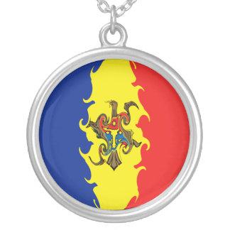 モルドバ|すごい|旗 カスタムネックレス