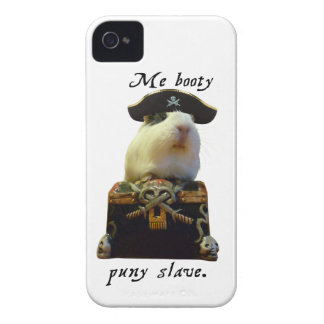 モルモットのおもしろいな海賊 Case-Mate iPhone 4 ケース