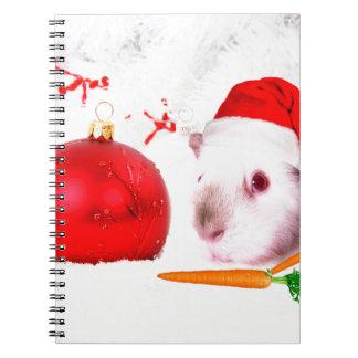 モルモットのクリスマス ノートブック