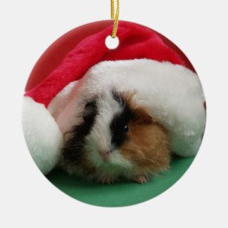 モルモットの動物のクリスマスのオーナメント セラミックオーナメント