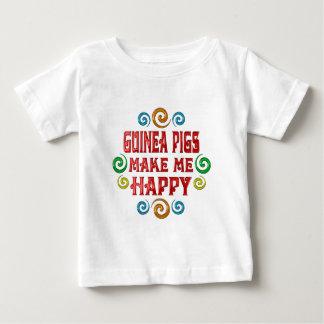 モルモットの幸福 ベビーTシャツ