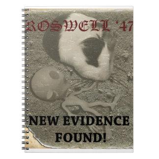 モルモットのRoswellのエイリアン ノートブック