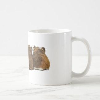 モルモットはマグを接合します コーヒーマグカップ