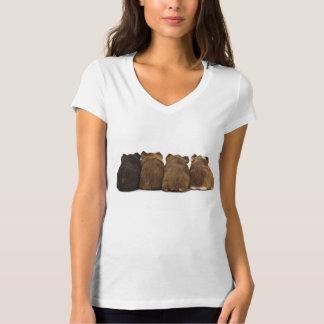 モルモットはTシャツを接合します Tシャツ