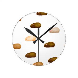 モルモット ラウンド壁時計