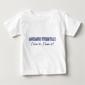 モルモンのクリスチャン ベビーTシャツ