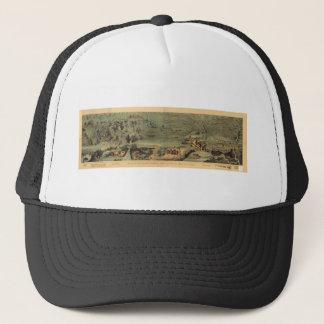 モルモン教徒はグレート・ソルト湖1846年に地図Nauvooを開拓します キャップ