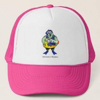 モルモン教徒対ゾンビのWaterparkのゾンビの帽子 キャップ