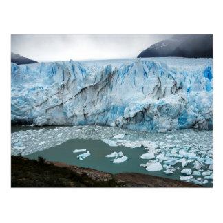 モレノの氷河および湖Argentino ポストカード