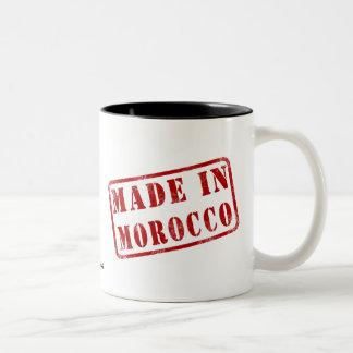 モロッコで作られる ツートーンマグカップ