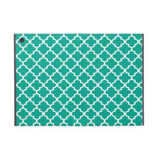 モロッコのエメラルドグリーンのタイルのデザインパターン上品 iPad MINI ケース