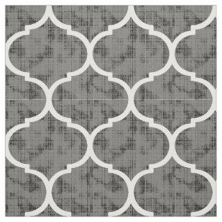 モロッコのクローバーのタイルパターン家の装飾 ファブリック