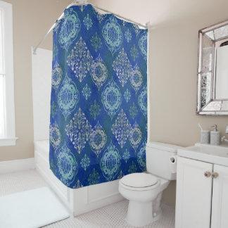 モロッコのタイルパターン現代世界のスタイルのボヘミア人 シャワーカーテン