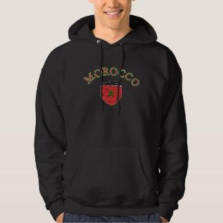 モロッコのフットボールのフード付きスウェットシャツ パーカ