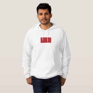 モロッコのフード付きスウェットシャツのメンズ旗 パーカ
