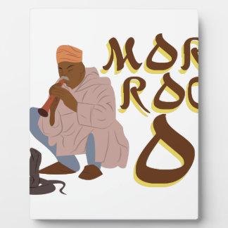 モロッコのヘビ使い フォトプラーク