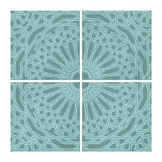 モロッコのモザイク カスタマイズ可能なキャンバス キャンバスプリント