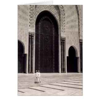 モロッコのモスク カード
