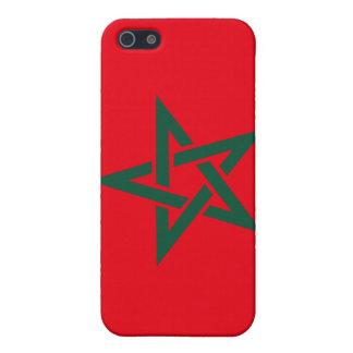 モロッコのモトッコ人の旗 iPhone 5 COVER