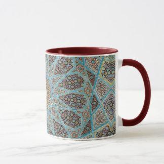 モロッコの古い陶磁器のデザインの信号器のマグ マグカップ