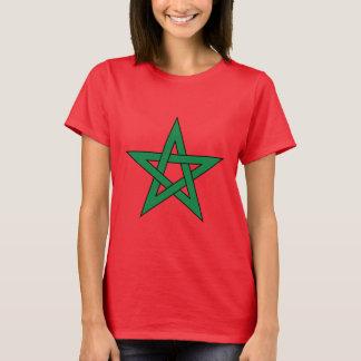 モロッコの女性のTシャツ Tシャツ